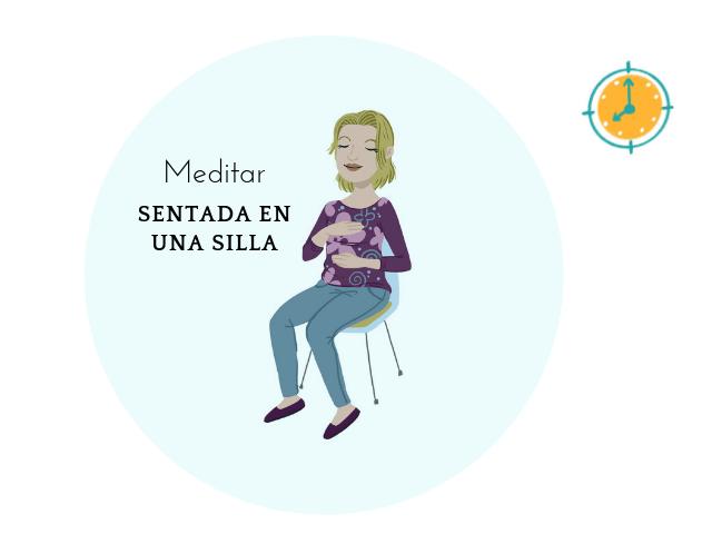 4 Beneficios de meditar sentada en una silla